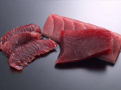 寿司ネタの切り方の画像